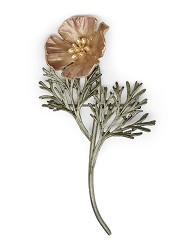 MICHAEL MICHAUD: CALIFORNIA POPPY PIN