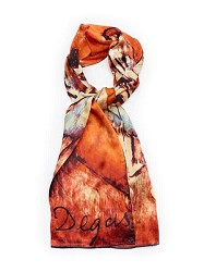 DEGAS DANCER OBLONG SCARF