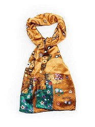 KLIMT TREE OF LIFE SCARF