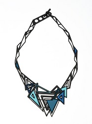 BATUCADA: KHEOPS AQUA & BLUE NECKLACE