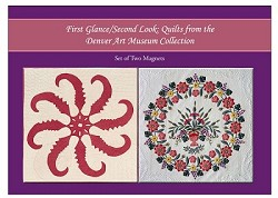 MAGNET SET PRINCESS FEATHER & INDIANA WREATH