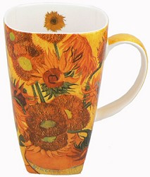 SUNFLOWERS- GRANDE MUG