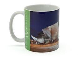 HAMILTON BUILDING NIGHT SHOT MUG