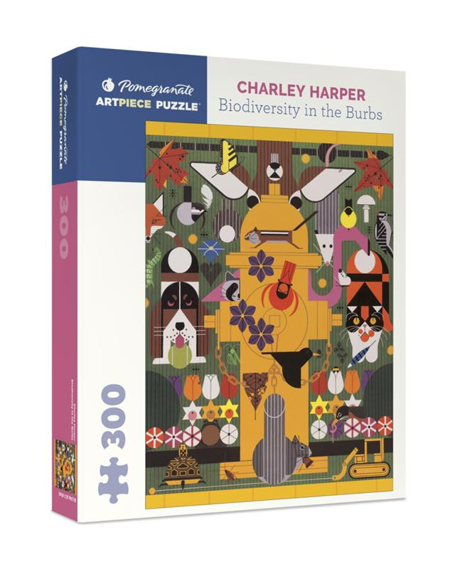 CHARLEY HARPER: BIODIVERSITY IN THE BURBS 300 PC PUZZLE,JK006