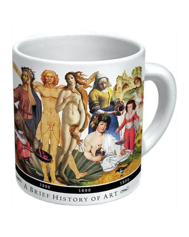 BRIEF HISTORY OF ART MUG,1658