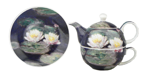 TEA FOR ONE - WATER LILIES,S12703