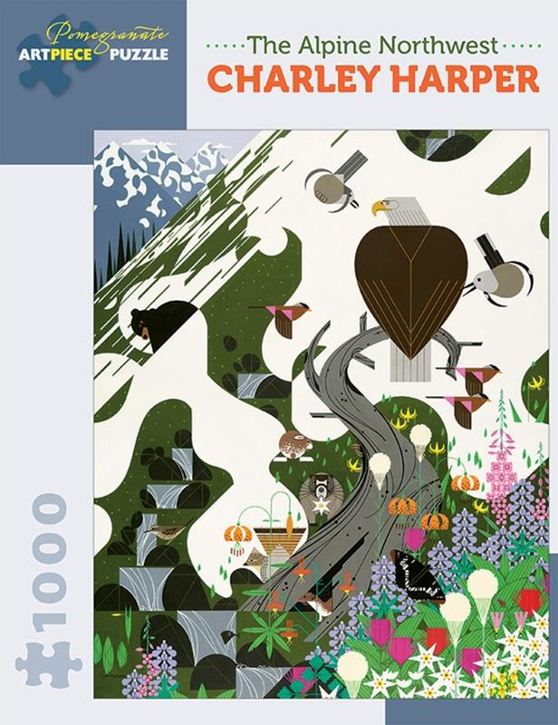 CHARLEY HARPER: THE ALPINE NORTHWEST 1000 PC PUZZLE,AA927