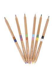 DUAL COLOR PENCIL SET OF 6 DENVER ART MUSEUM BRANDED