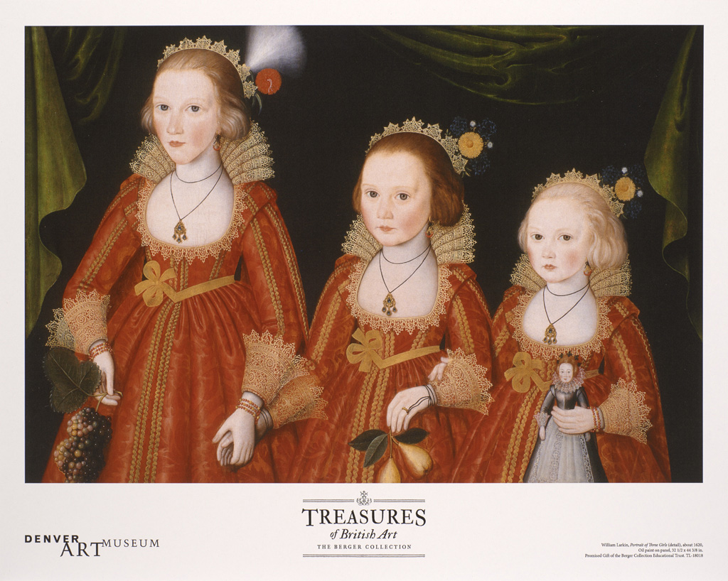 THREE GIRLS  11X14 POSTER
