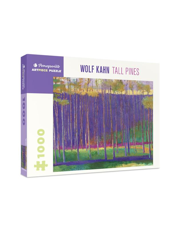 WOLF KAHN: TALL PINES 1000 PC PUZZLE,AA1037