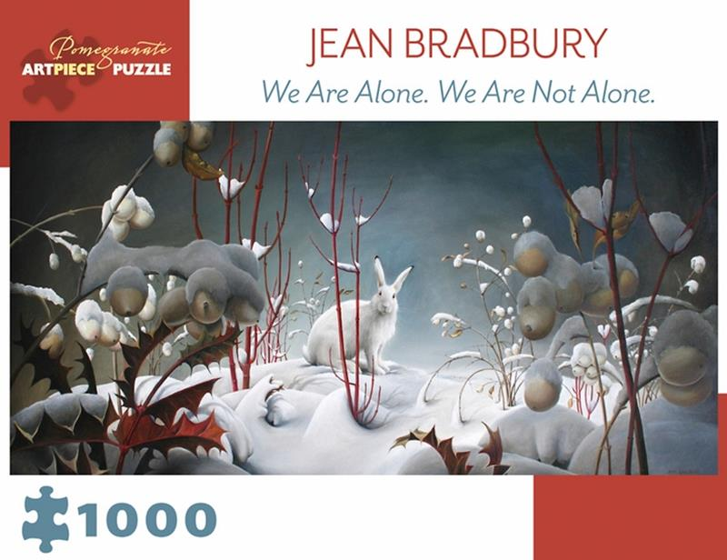 1000 PC PUZZLE JEAN BRADBURY WE ARE NOT ALONE,AA979