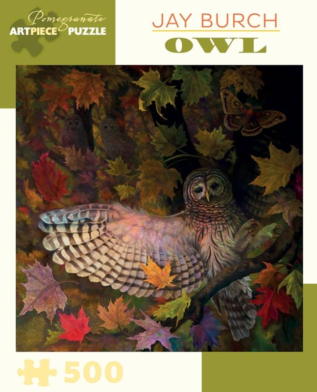 JAY BURCH: OWL 500 PC PUZZLE,AA881