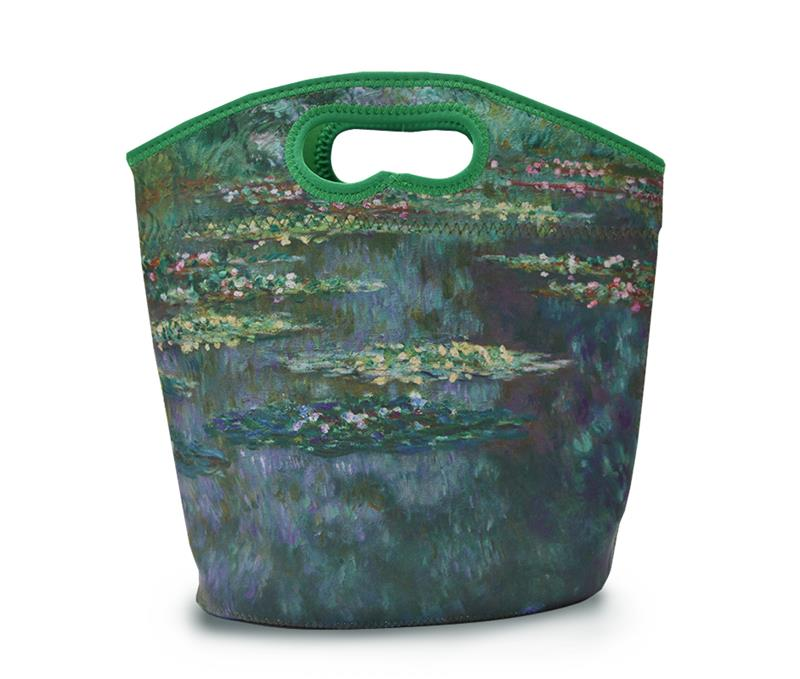 NEOPRENE LUNCH TOTE WATERLILIES,MP K1