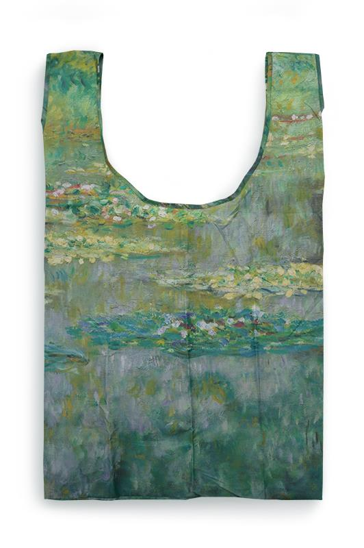 SHOPPER TOTE BAG WATERLILIES,MP PA16