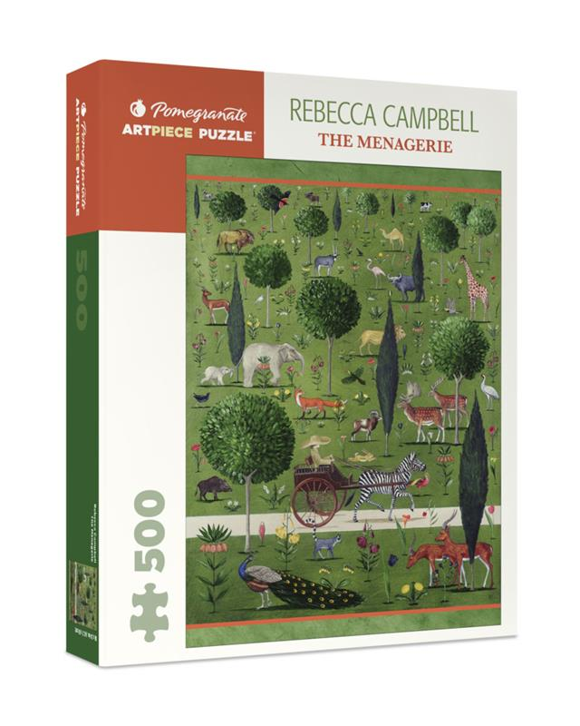 500 PC PUZZLE REBECCA CAMPBELL THE MENAGERIE,AA1041