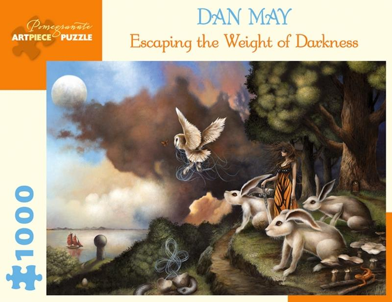 DAN MAY: ESCAPING THE WEIGHT OF DARKNESS 1000 PC PUZZLE,AA991