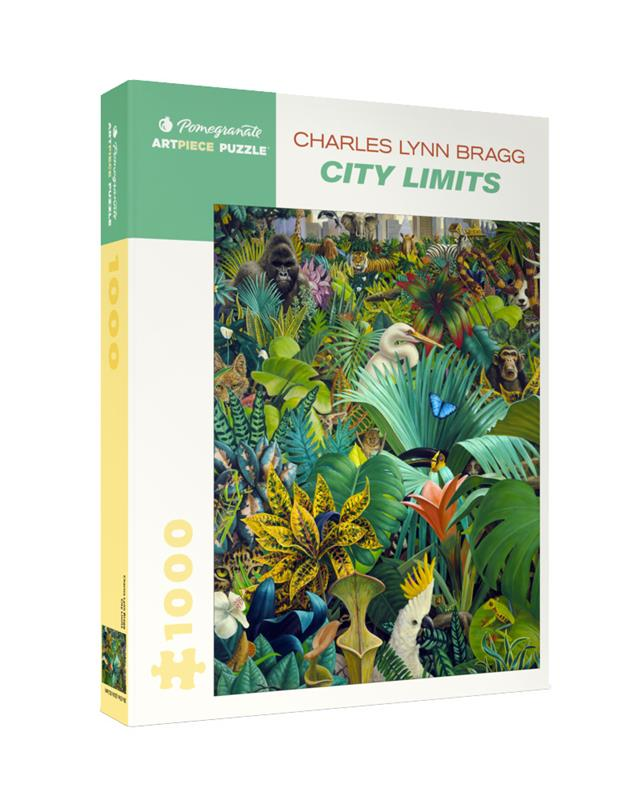 CHARLES LYNN BRAGG: CITY LIMITS 1000 PC PUZZLE,AA1060