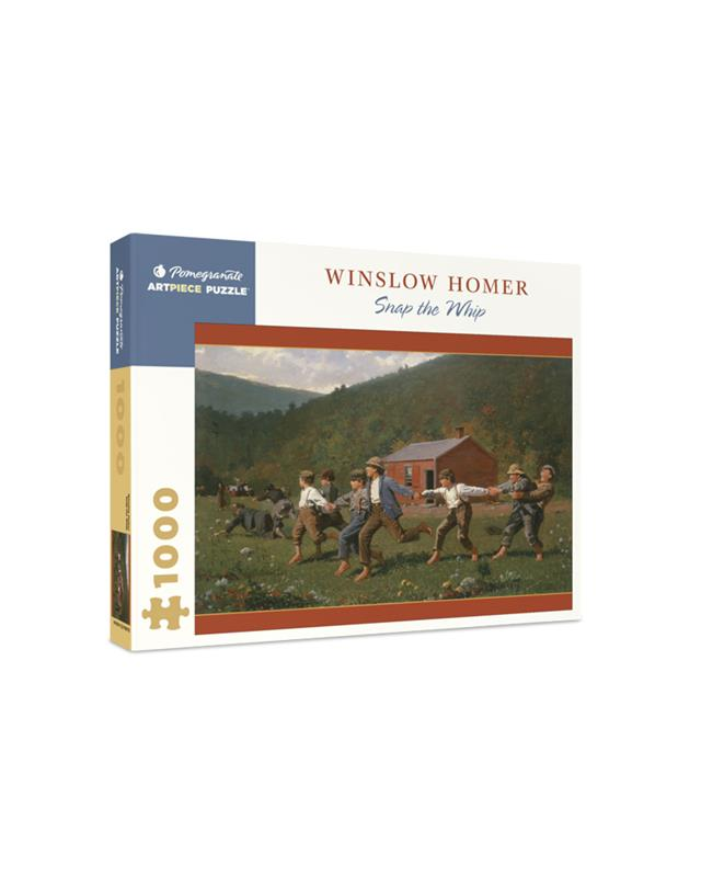 1000 PIECE PUZZLE WINSLOW HOMER  SNAP THE WHIP,AA1066