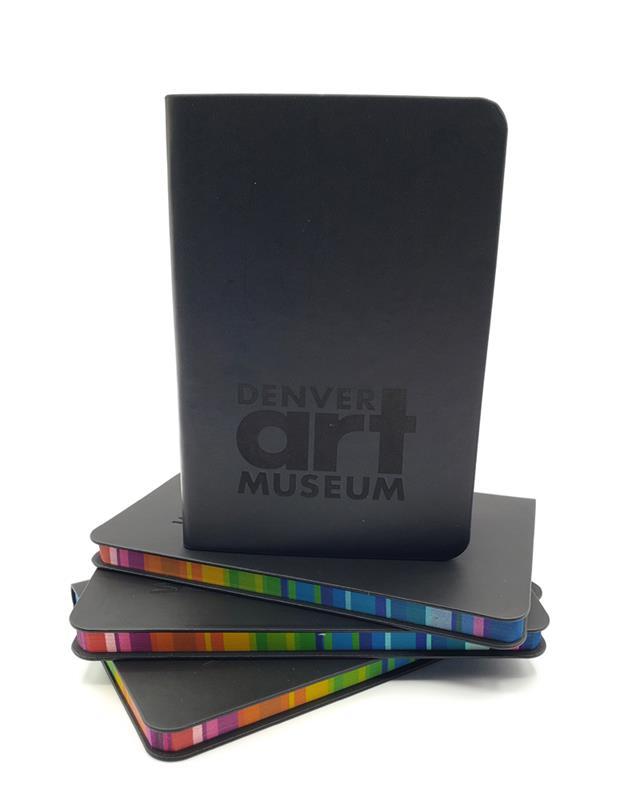 DENVER ART MUSEUM RAINBOW LASER ENGRAVED JOURNAL