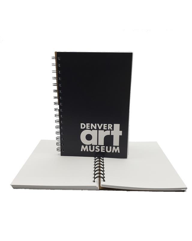 DENVER ART MUSEUM SPIRAL SKETCHBOOK