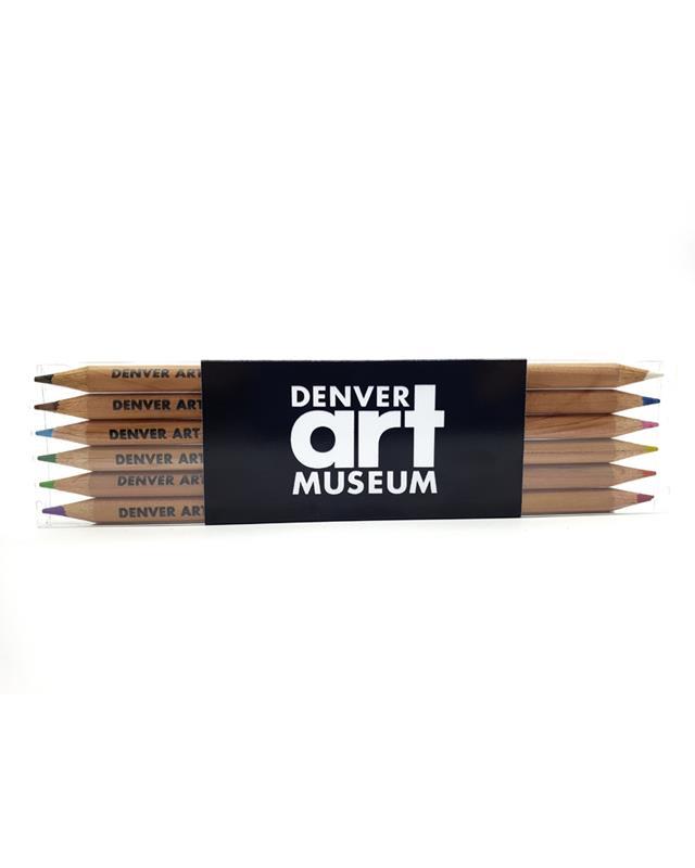 DENVER ART MUSEUM SET OF 6 DUAL COLOR PENCIL,MP L13