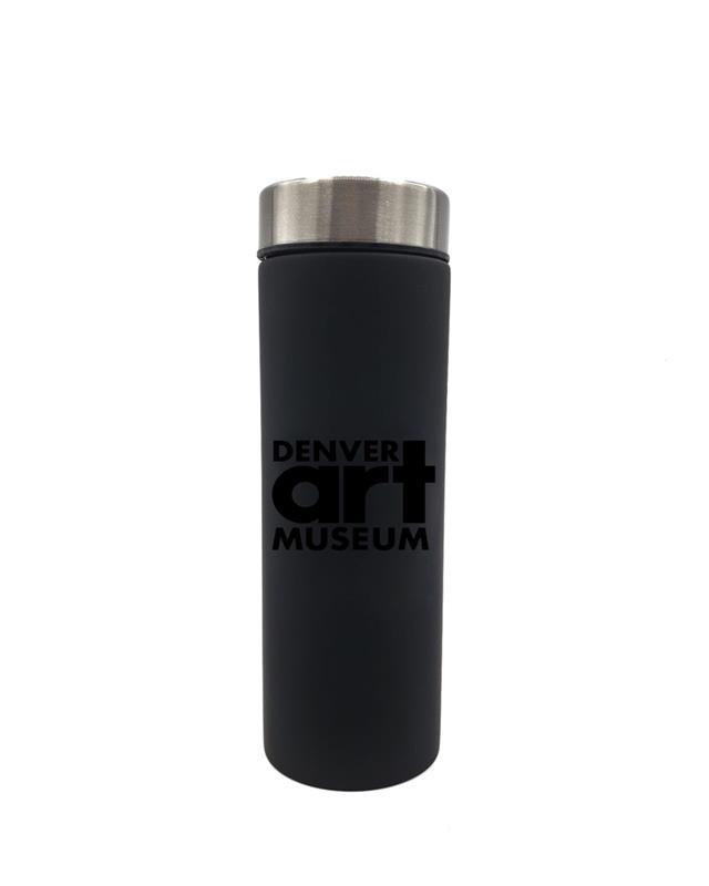 DENVER ART MUSEUM LE BATON TRAVEL BOTTLE 17 OZ,LB17 BLK/BLK 321180