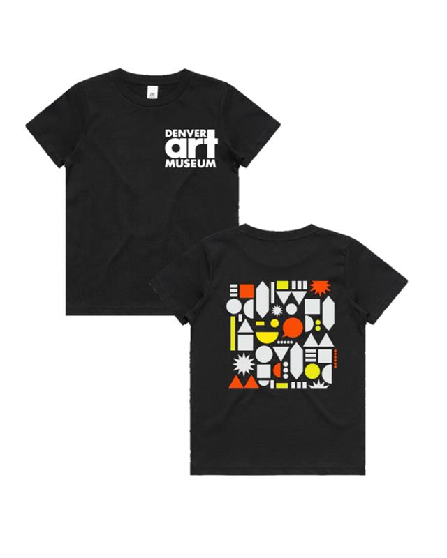DENVER ART MUSEUM YOUTH T-SHIRT,YOUTH LG