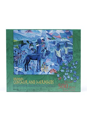 SERENADE: CENTAUR & MERMAID PUZZLE,9958C