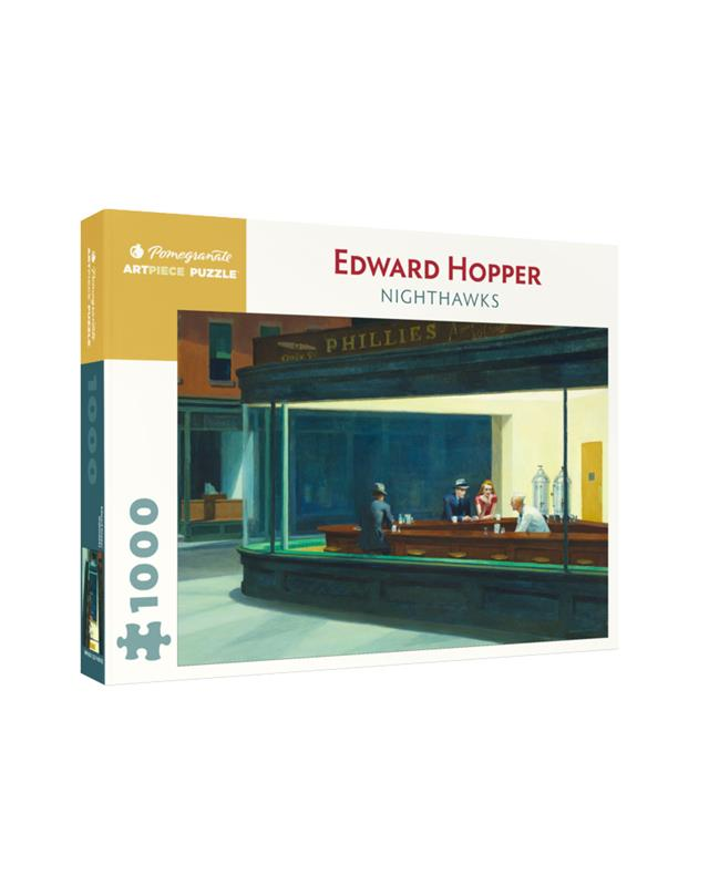 EDWARD HOPPER NIGHT HAWKS 1000 PC PUZZLE,AA1082